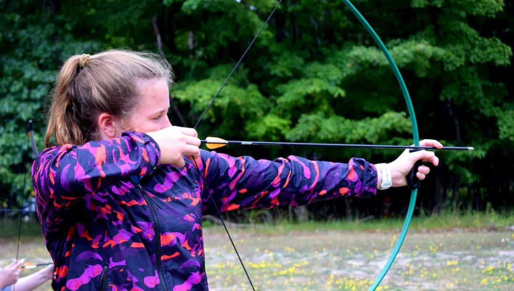 can you shoot a bow in your backyard