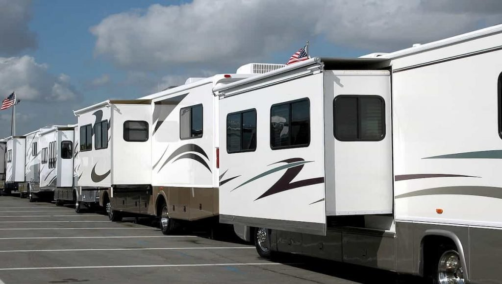 living in an rv park
